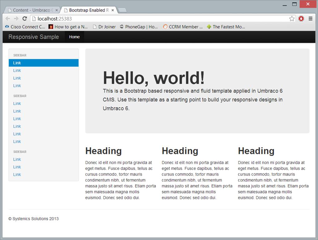 Create A Responsive Fluid Html5css3 Based Website On