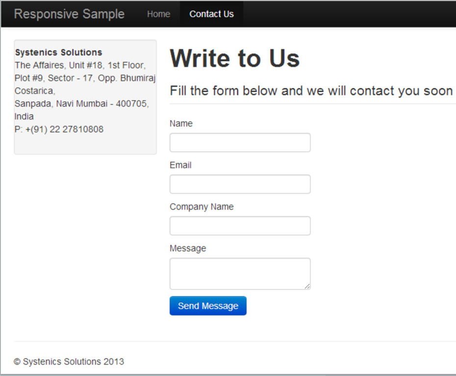 Creating an Ajax enabled Contact Form in Umbraco 6 with ASP.NET ...